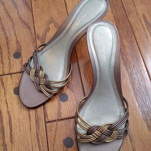Ann Taylor ladies sandals sz 7